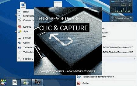 Clic and Capture screenshot